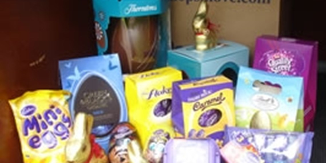 Win a Box full of Easter Eggs in our Easter competition!