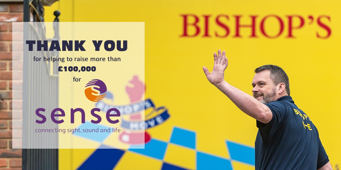 Bishop's Move raises £100,000 for UK charity Sense