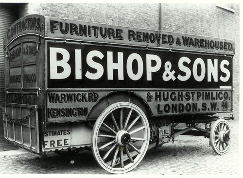 Originally removals were undertaken by horse and cart