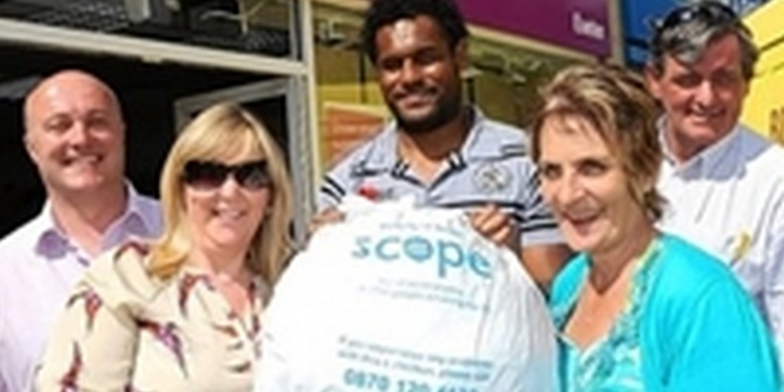 Scope Partnership Update – Over £23800 Raised