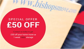 Bishop's Move University Discount for Employees and Students