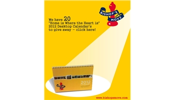 """Win 20 """"Home is Where the Heart is"""" 2012 Desktop Calendars"""