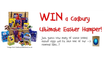 Win a Cadbury Ultimate Easter Hamper with Bishop's Move!