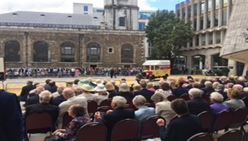 Bishop's Move attend 2017 Cart Marking Ceremony in the City of London
