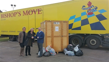 Bishop's Move Edinburgh helps local charity The Button Box