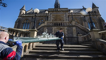 Bishop's Move undertake third move for the McManus Gallery, Dundee, Scotland