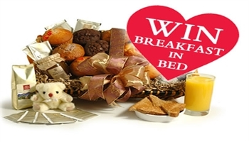 Enter our Home is Where the Heart is competition this Valentine's Day - you could win Breakfast in B