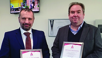 The Bishop's Move Group is awarded ISO 14001 & BS OHSAS 18001
