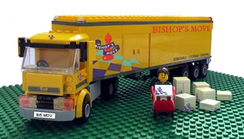 Mr & Mrs Lego are moving house - enter our Easter competition today!
