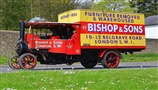 Rare Bishop's Move Steam Foden to attend Weald of Kent Steam Rally