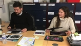 Black Arrow Primary School Competition Judging with Skyrora at Bishop's Move Edinburgh