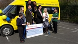 UK's largest family owned removal company sponsors Springfield School's minibus