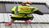 Bishop's Move Oxford supports office cleaner during charity abseil