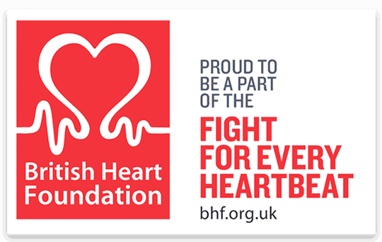 Supporting the British Heart Foundation - bhf.org.uk