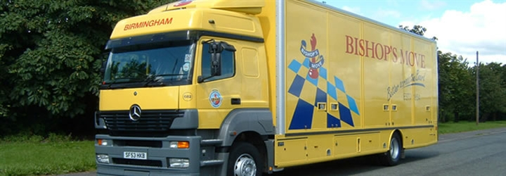 Contact Bishop's Move Birmingham about removals and storage