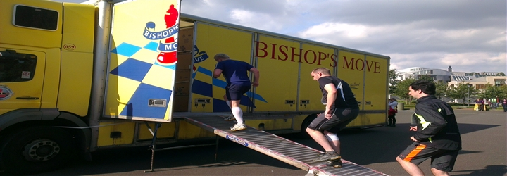 Bishop's Move's supports local charities through it's removals and storage services.