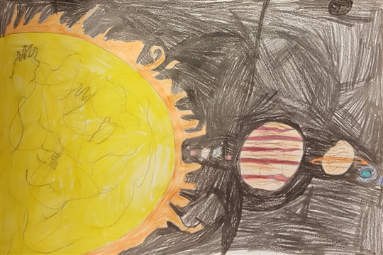 Black Arrow Competition Entry from Mauricewood Primary School%44 near Penicuik