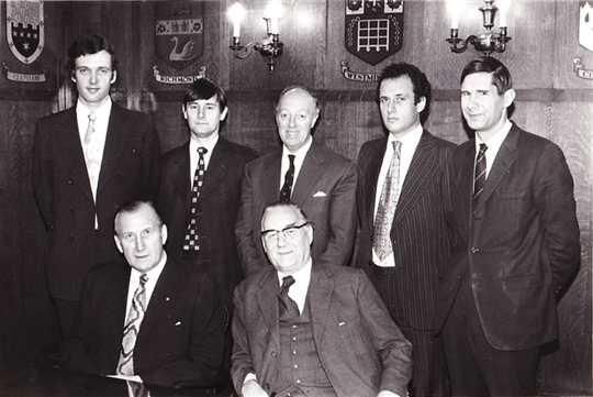 The Board of Directors in 1970s