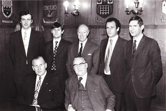 The Board of Directors in 1970s