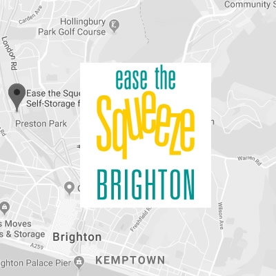 Ease the Squeeze Self Storage in Brighton