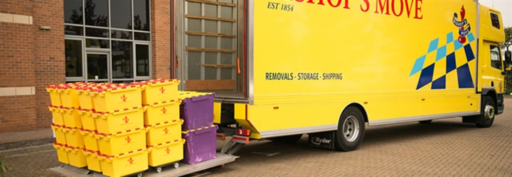 Bishop's Move Exeter business removal services