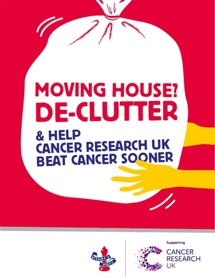 De-clutter &; Donate to Cancer Research UK with Bishop's Move