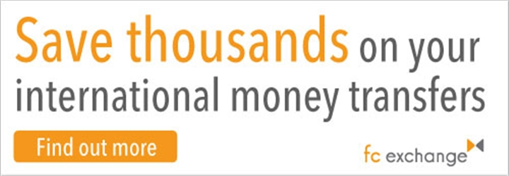 Save money with International money transfer experts FC Exchange