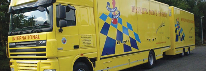 European relocation and moving services from Bishop's Move