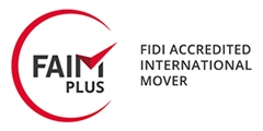 Bishop's Move International are a FAIM Plus FIDI Accredited International Mover