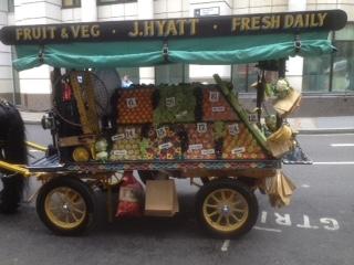 James Hyatt's Fruit &; Veg cart
