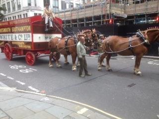 Horse-drawn removals van