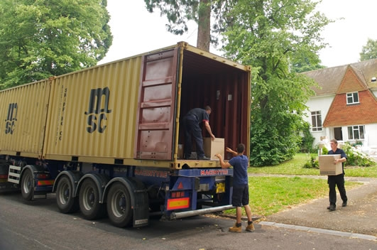 Containerised Shipping to Hong Kong