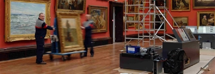 Museum Relocation services from Bishop's Move
