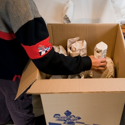 Make sure you pack non-essential items a little in advance of move day