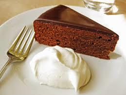 Vienna's famous chocolate cake - Sacher-Torte