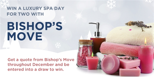 Win a Luxury Spa Day throughout Advent