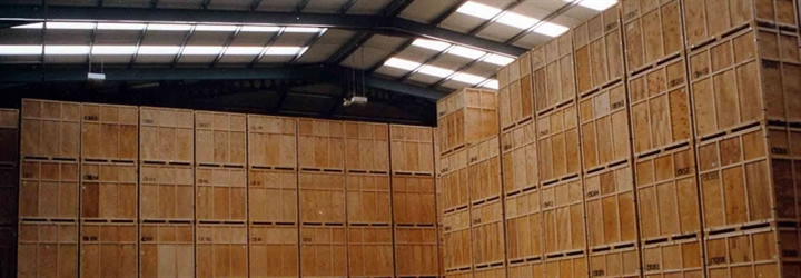 Secure warehouse storage from Bishop's Move