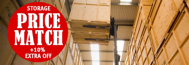 Bishop's Move York are offering a Storage Price Match Promise +10% Extra OFF! (April & May only)