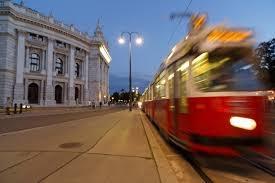 Excellent public transport system in Vienna